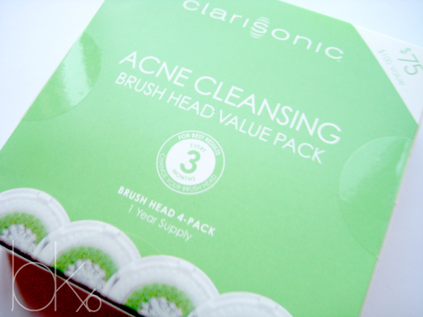 Clarisonic Cleansing Brush Head Value Pack