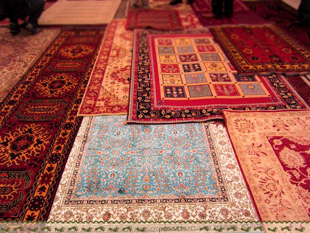 Como comprar alfombras en Turquia