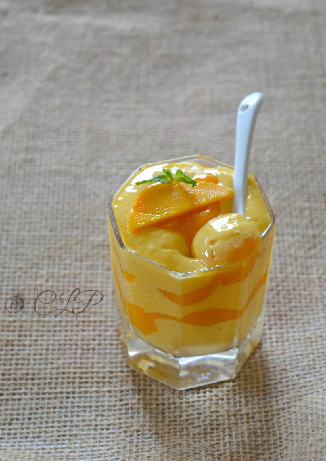 Low Fat mango fool recipe