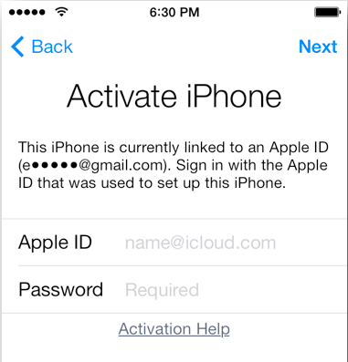 iCloud Email Information Service.