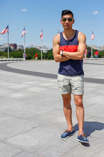 #WhereUNIQLO Levitate Style Washington DC | Summer Style Travel feat. Uniqlo, Timberland Denim Boat Shoes, Daniel Wellington, Washington Monument, Menswear