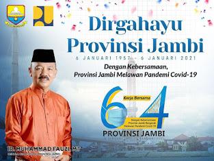 HUT Provinsi Jambi Ke 64