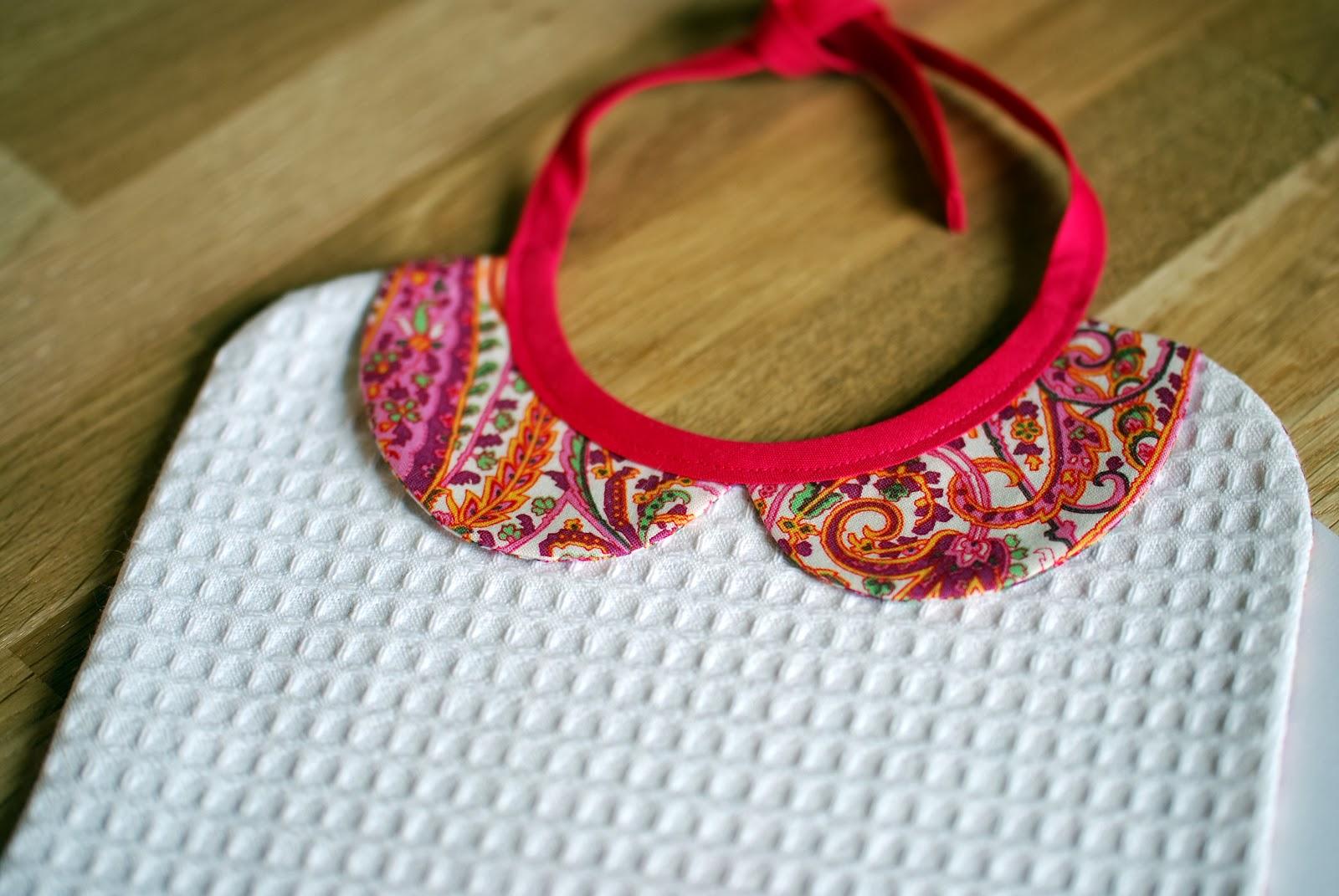 Blog parenthèse créative LN couture bavoir col claudine