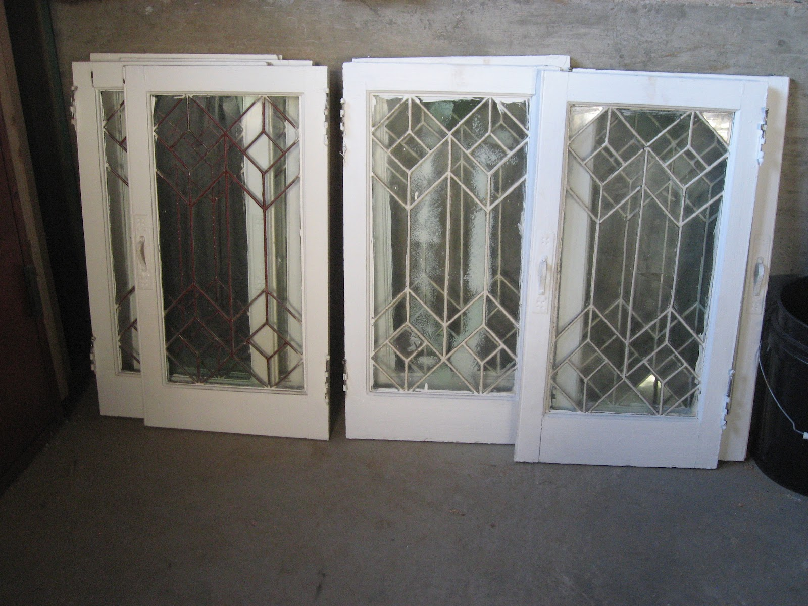 Leaded Glass CabiDoors