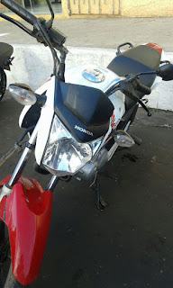 Em Caxias, Polícia Militar recupera moto roubada em Timon