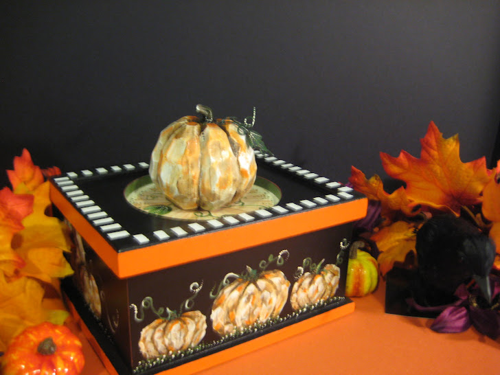 Halloween Trinket Box