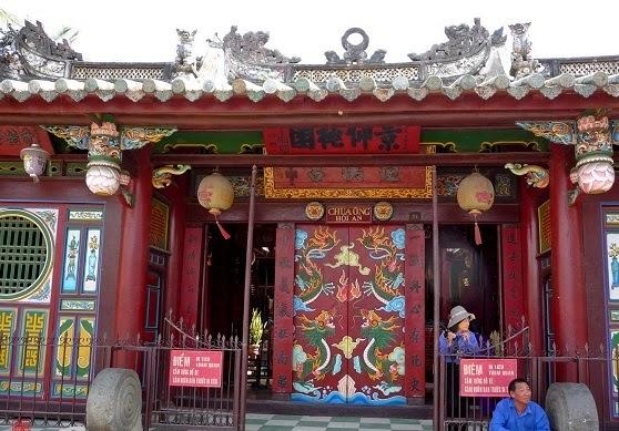 Ong Pagoda in Hoi An (Quan Cong Mieu)