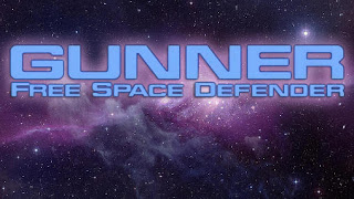 Screenshots of the Gunner: Free space defender for Android tablet, phone.
