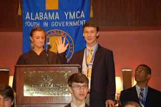 Catholic's DuBois Elected 2013 Youth Governor at 64th Annual Youth Legislature Conference 1
