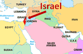 Map Of Middle East Including Israel  Middle East Map