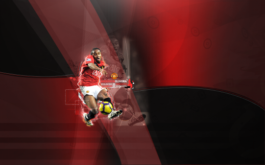 Oliveira Anderson wallpaper Manchest united
