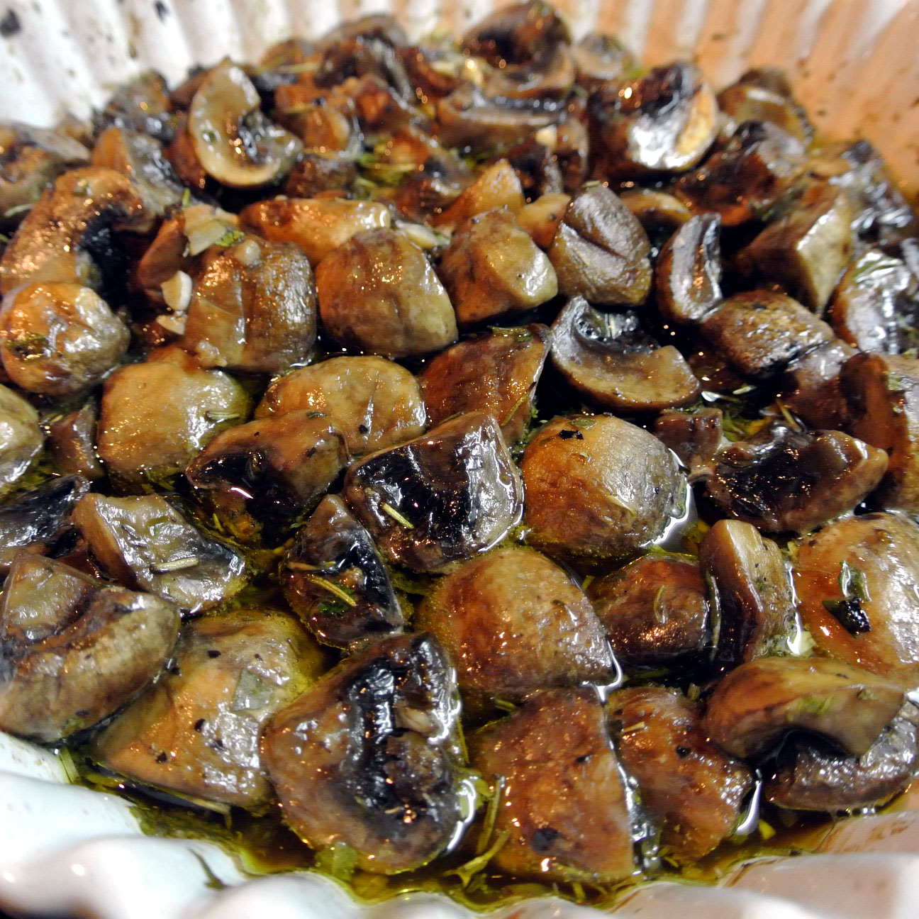 ... roasted mushrooms roasted mushrooms with rosemary and garlic balsamic