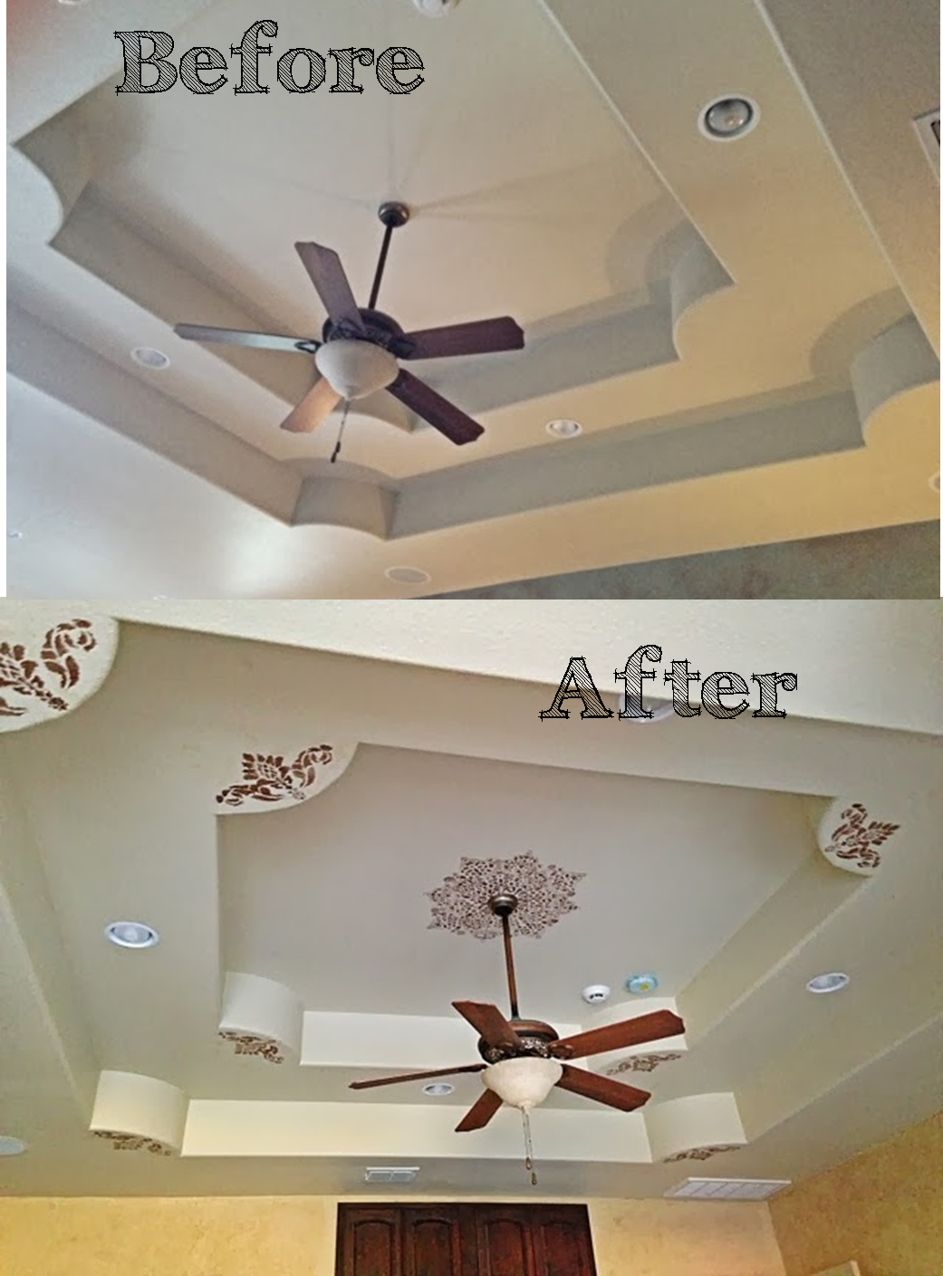 The ragged wren adding character to ceilings part 1 for Ceiling mural ideas