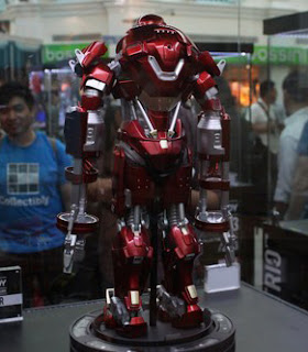 Play Imaginative Super Alloy 1/4 Scale Figure - Iron Man 3 - Red Snapper Armor