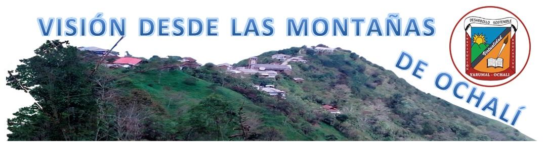vision desde las montañas de ochali