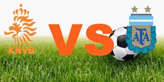 Prediksi Skor FIFA World Cup Terjitu Belanda vs Argentina jadwal 10 Juli 2014