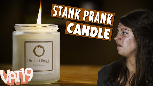 Lilin yang bisa mengeluarkan bau aneh