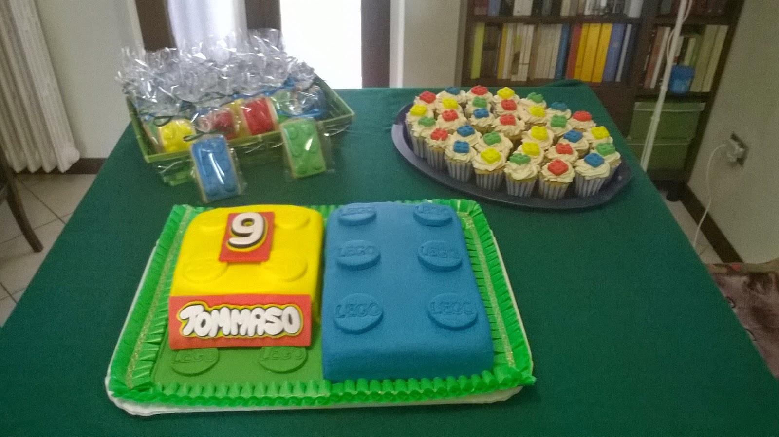 Cuore Dolce Il Mio Primo Sweet Table Festa Lego