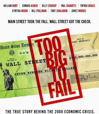 Poster Of Too Big to Fail (2011) In Hindi English Dual Audio 300MB Compressed Small Size Pc Movie Free Download Only At World4ufree.Org