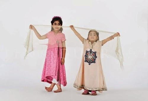 Tena Durrani Kids Dresses 2014