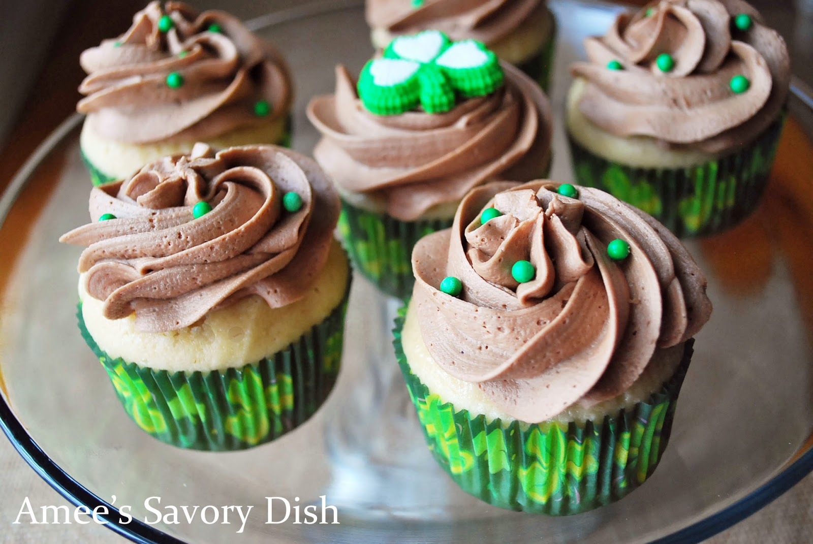... Irish Cream Cupcakes with Irish Cream Buttercream Frosting recipes