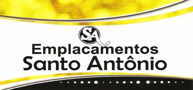 EMPLACAMENTOS SANTO ANTONIO