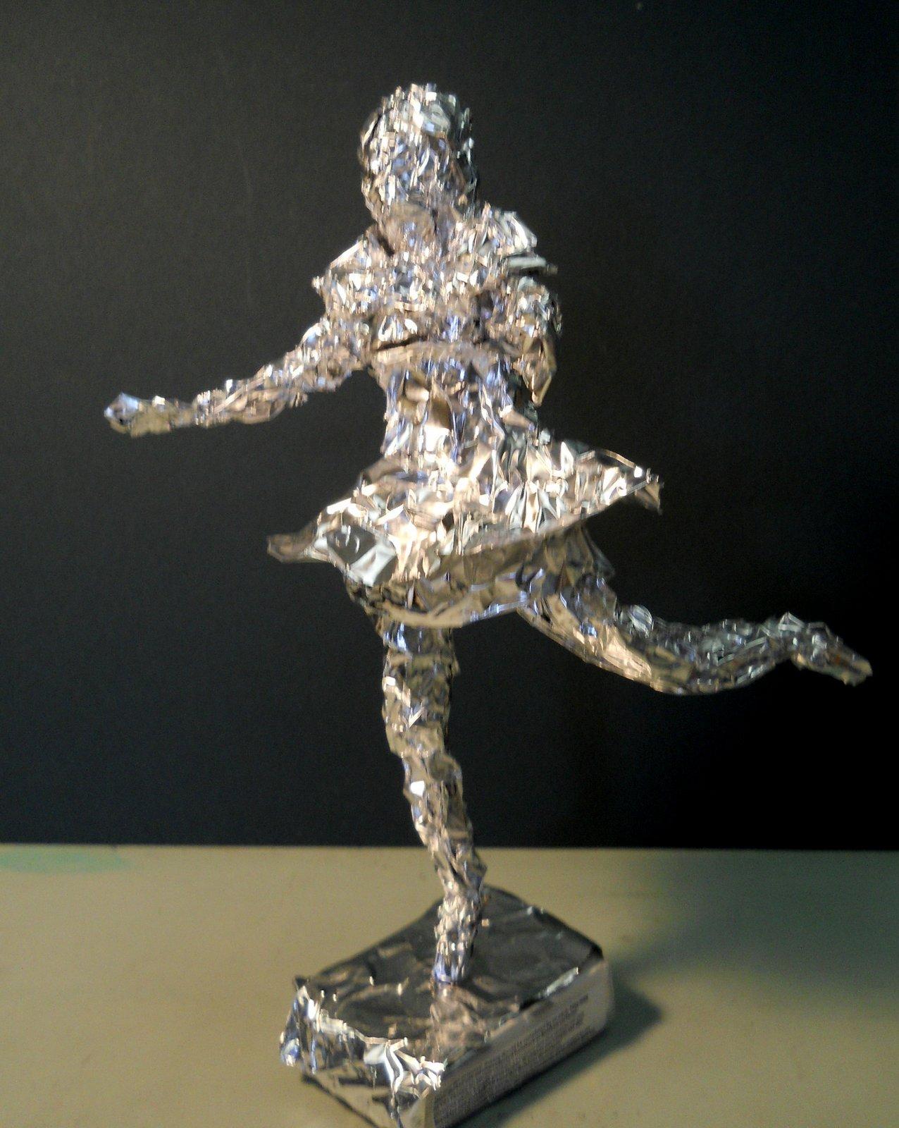 Aluminum Foil Sculptur...