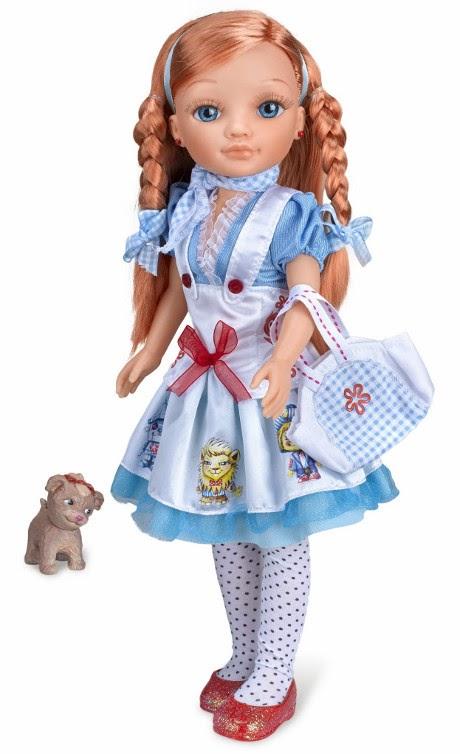 JUGUETES - NANCY  Vestidos de Cuentos | Muñeca | Dorothy El Mago de Oz  Producto Oficial | Famosa 700012079 | A partir de 4 años  No incluye el bolsito ni los lazitos del pelo