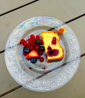 Cake Ispahan - rose framboises mûres vanille