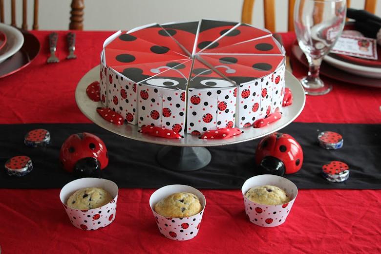 Decoración de Fiestas Infantiles de Mariquitas - Ladybug Party ...