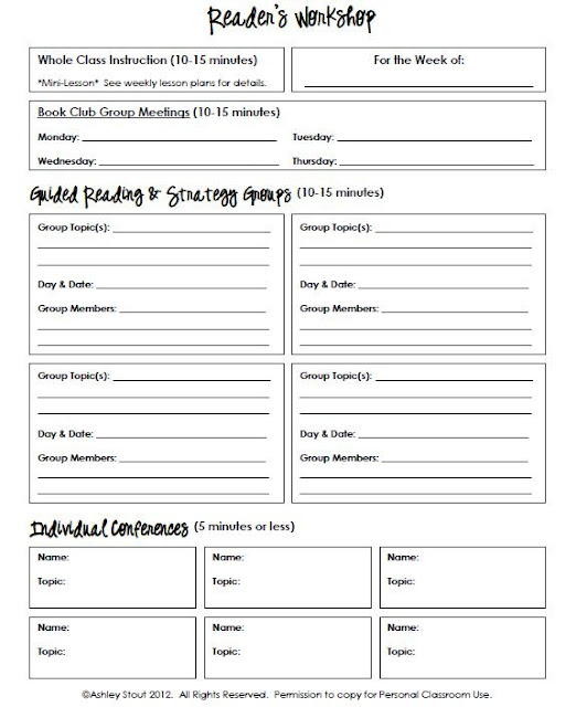 the real teachr  strategy grouping template for reading  writing  u0026 math