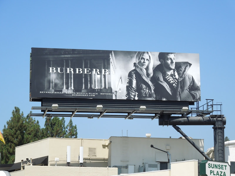 Burberry FW 2012 billboard