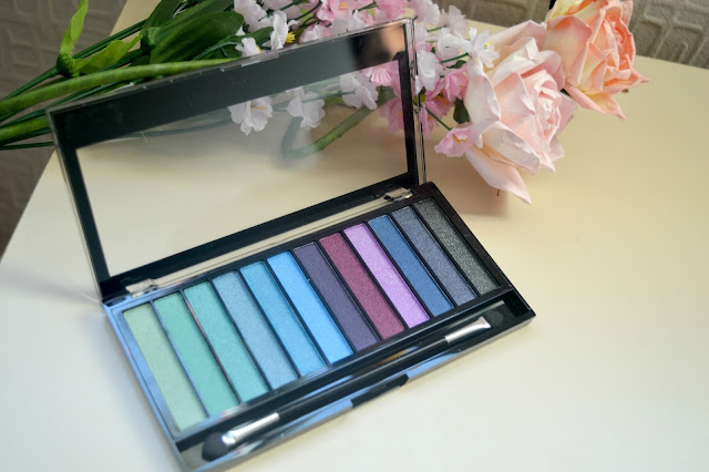 makeup revolution mermaids vs unicorns palette