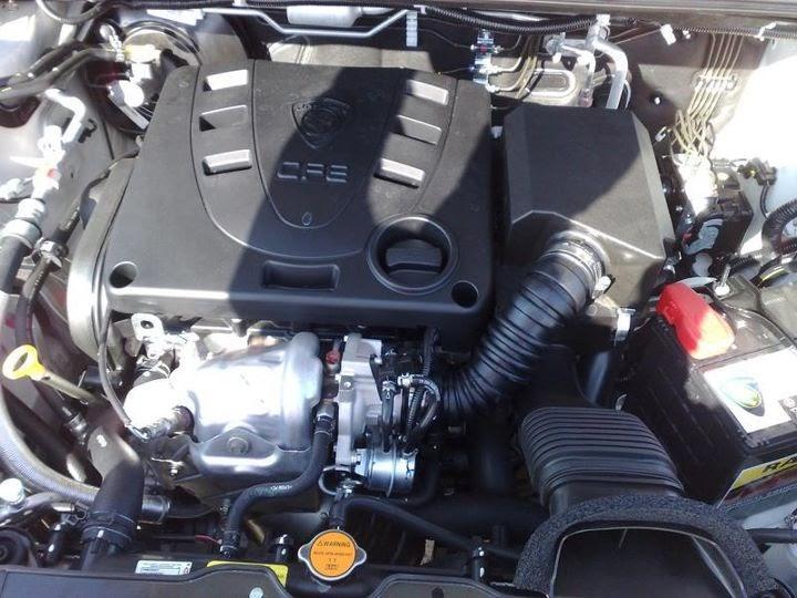 malaysia automotive news proton exora turbo engine  interior photo leak ben