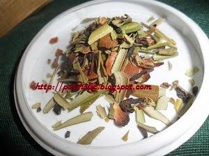 infusion chocolivo a base de hojas de olivo