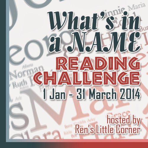 What's in a Name Reading Challenge 2014