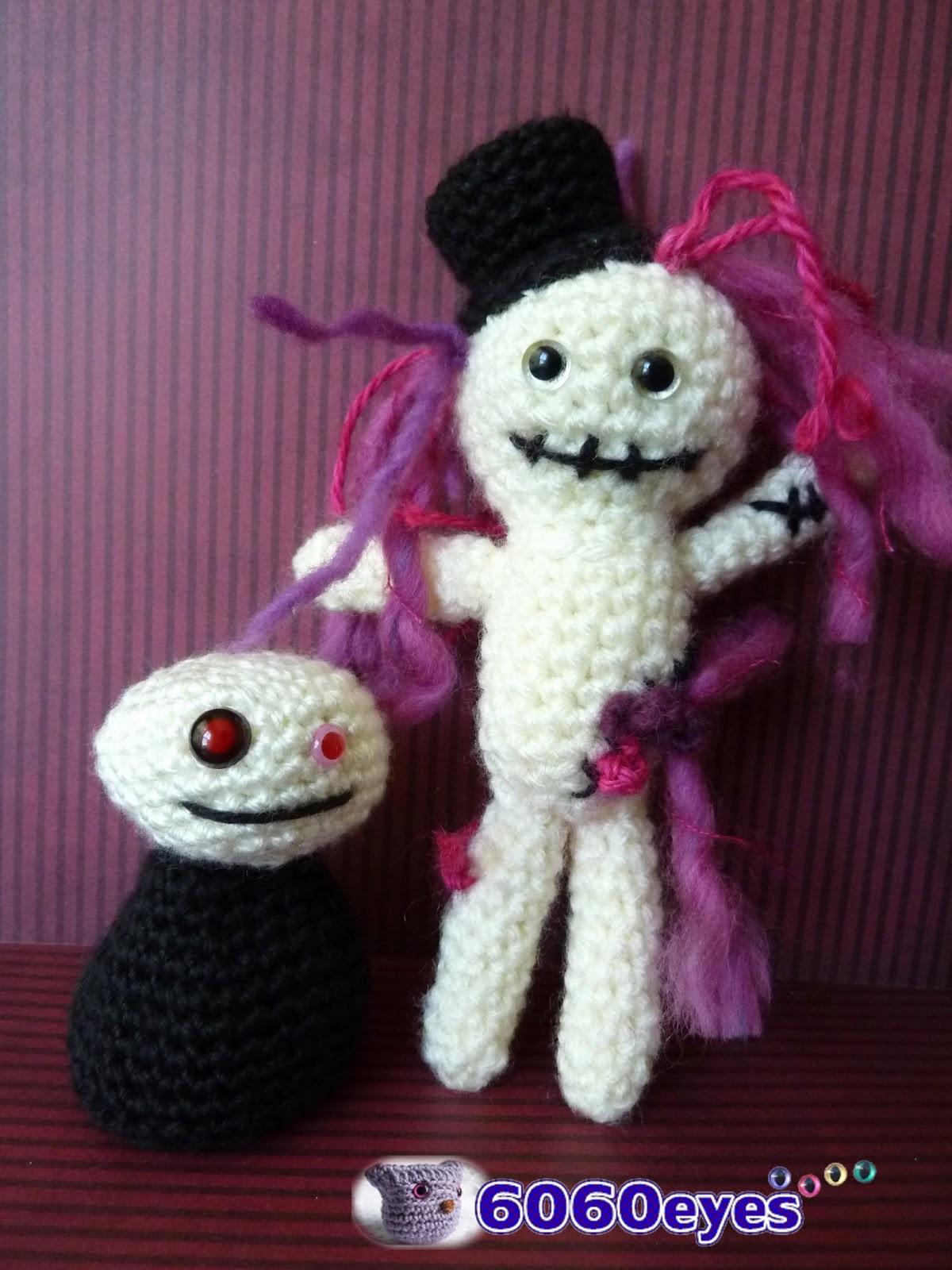 Amigurumi Patterns K And J Dolls Blog : 6060eyes.com: Crochet Zombie dolls