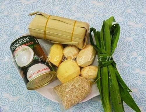Cách nấu chè Bubur ChaCha (BoBo ChaCha) ngon tuyệt của Malaysia 1