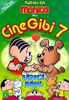 Turma da Mônica em Cine Gibi 7: Bagunça Animal - DVDRip Nacional