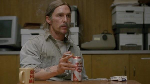 Irreconocible Matthew McConaughey en True Detective