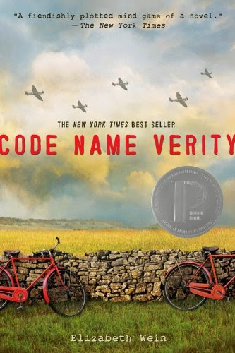 Code name verity is a well written historical fiction YA (young adult) book that won a Printz Honor.  Great book.  In my review I give it 4 stars.  Alohamora Open a Book http://alohamoraopenabook.blogspot.com/