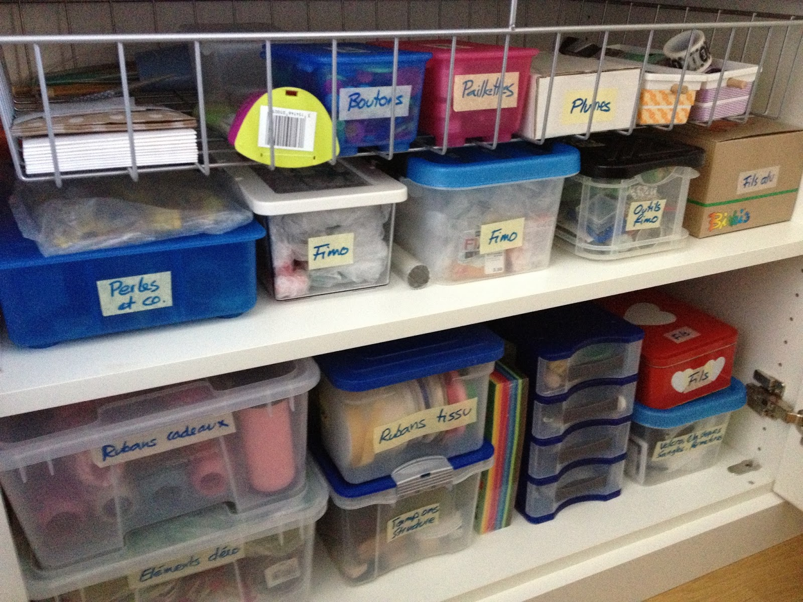 Comment organiser son atelier how to organize a craft room - Organiser son atelier de bricolage ...