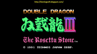 Free Download Games Double Dragon III The Rosetta Stone