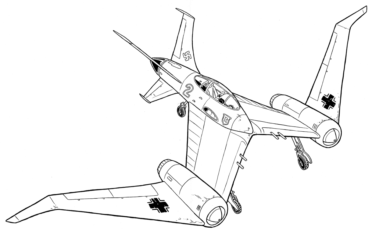 How To Draw A Ww2 Plane Step By Step