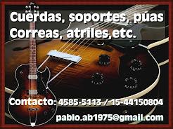 Accesorios para Guitarra