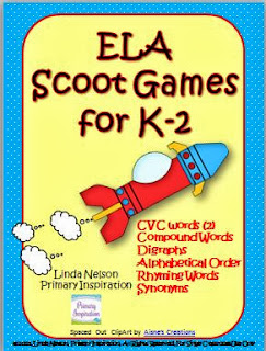 http://www.teacherspayteachers.com/Product/ELA-Scoot-Games-for-K-2-833963