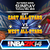 NBA 2K14 East & West All-Star Teams Roster