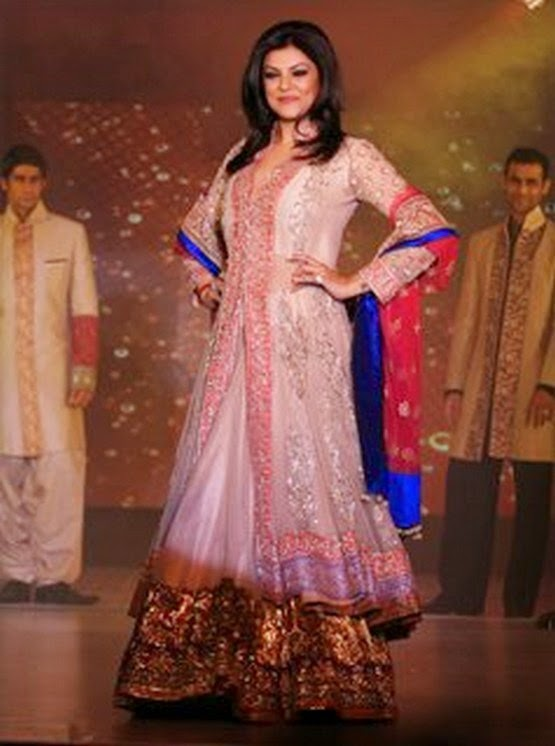 Sushmita Sen in Anarkali suit