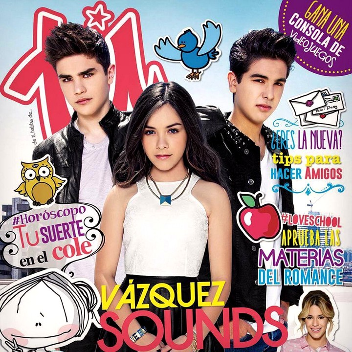 Angie Vazquez y los Vazquez Sounds en la revista Tu | Ximinia