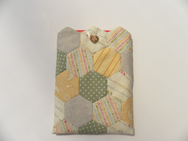 Hexies Patchwork iPad Mini Case